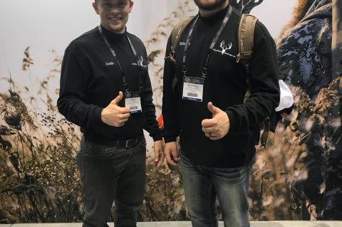 Josh Anderson and Mitchell Sudbeck look ahead towards their new journey together running Outdoorsmen Adventures