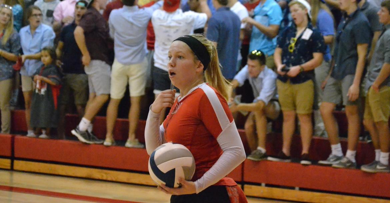 Ashley Hamilton will be playing volleyball at Nebraska Wesleyan University
